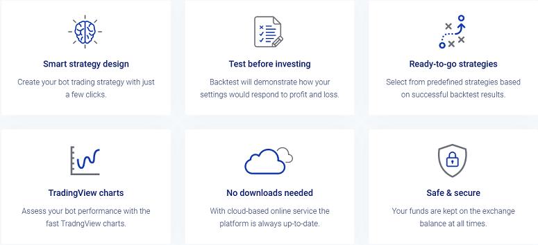 Bitsgap features